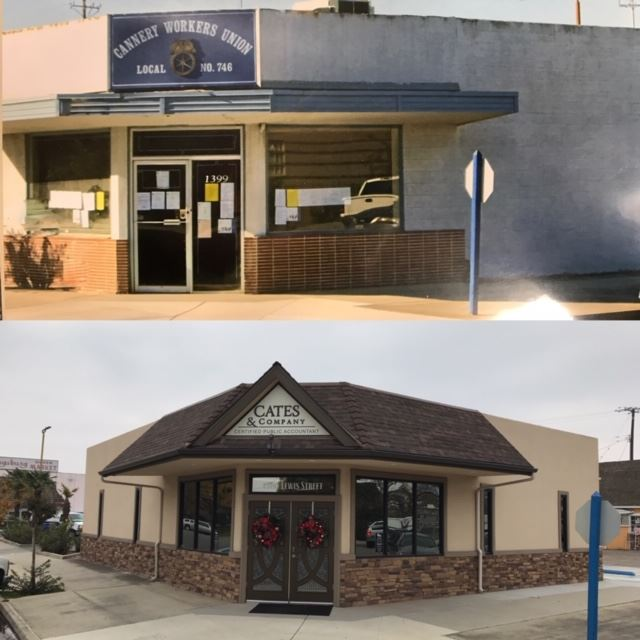 Facade Project - Cates & Company - Before & After